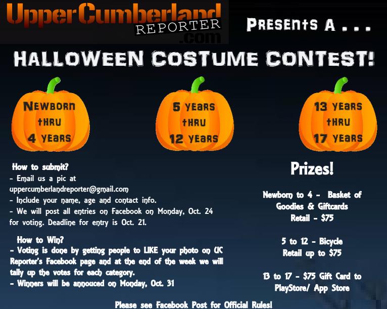 Halloween Costume Contest | Upper Cumberland Reporter