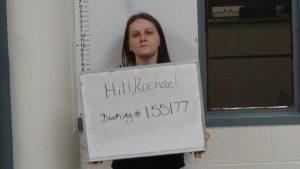 Hill, Racheal Diane - GS FTA:P Poss Unlaw Drug Para