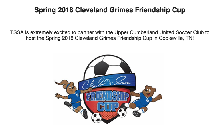 Cookeville Host Spring 2018 Cleveland Grimes Friendship Cup Upper Cumberland Reporter
