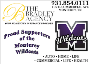 Bradley Agency Ad for MHS BB 18178