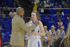 UHS Girls Basketball State Champions 3-10-18-16