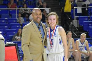 UHS Girls Basketball State Champions 3-10-18-17