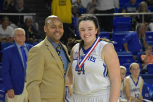 UHS Girls Basketball State Champions 3-10-18-22