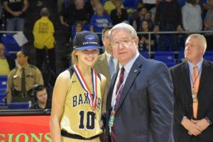 UHS Girls Basketball State Champions 3-10-18-27