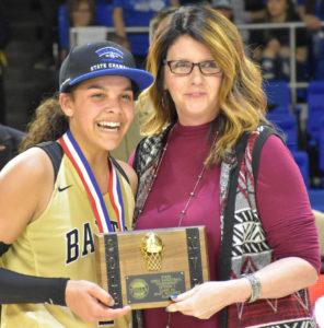 UHS Girls Basketball State Champions 3-10-18-30