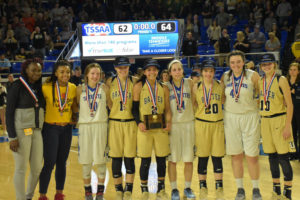 UHS Girls Basketball State Champions 3-10-18-34