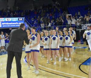 UHS Girls Basketball State Champions 3-10-18-37