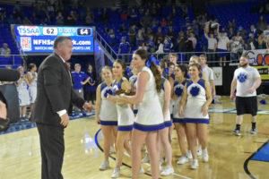 UHS Girls Basketball State Champions 3-10-18-39