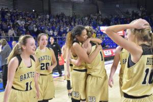 UHS Girls Basketball State Champions 3-10-18-4