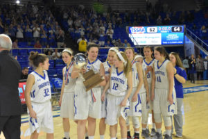 UHS Girls Basketball State Champions 3-10-18-46