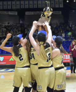 UHS Girls Basketball State Champions 3-10-18-67