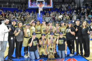 UHS Girls Basketball State Champions 3-10-18-78