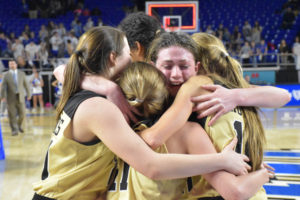 UHS Girls Basketball State Champions 3-10-18-9