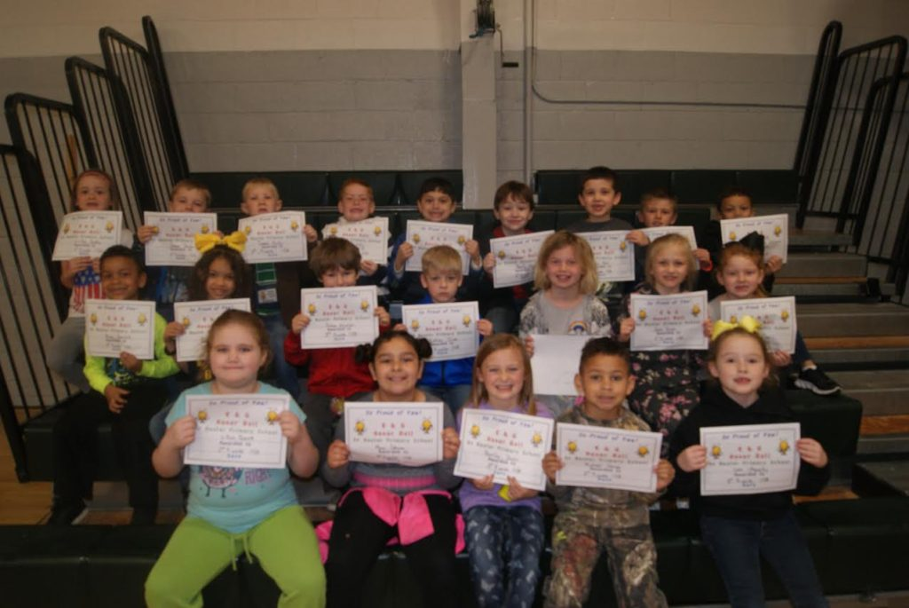 Baxter Ford South >> Baxter Primary Honor Roll 3rd Nine Weeks | Upper ...