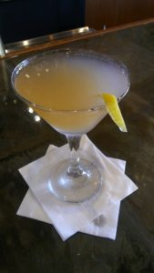 French Blonde Martini