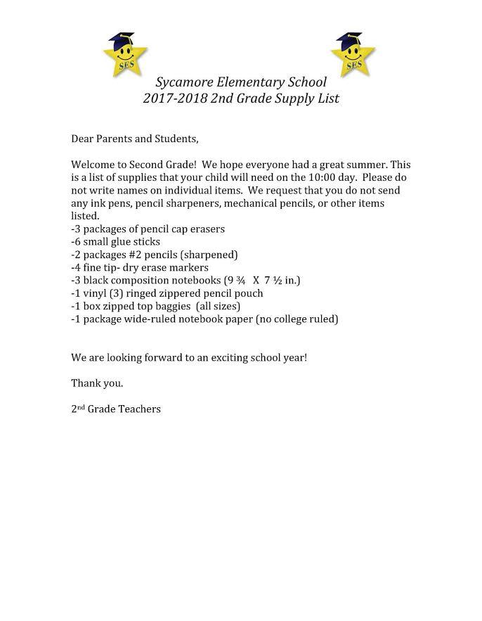 Putnam County 2017-2018 School Supply List | Upper Cumberland Reporter