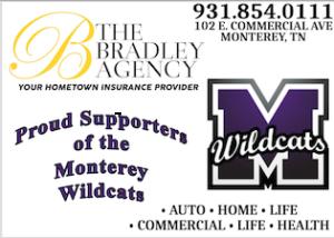 Bradley Agency Ad for MHS BB 18178