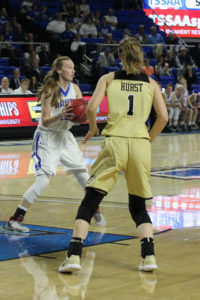 Macon County Girls Basketball State Championship 3-10-18