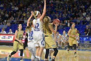 UHS Girls Basketball State Champions 3-10-18-185