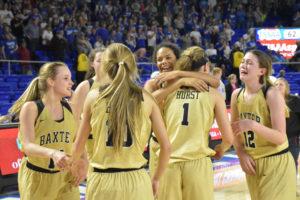 UHS Girls Basketball State Champions 3-10-18-2