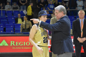 UHS Girls Basketball State Champions 3-10-18-20