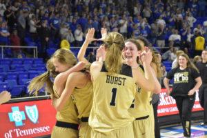 UHS Girls Basketball State Champions 3-10-18