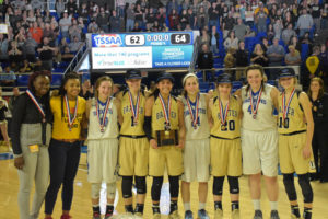 UHS Girls Basketball State Champions 3-10-18-32
