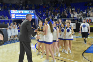 UHS Girls Basketball State Champions 3-10-18-38