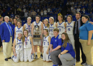 UHS Girls Basketball State Champions 3-10-18-49