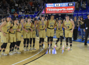UHS Girls Basketball State Champions 3-10-18-56
