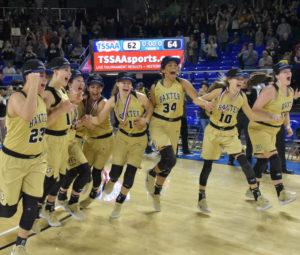 UHS Girls Basketball State Champions 3-10-18-59