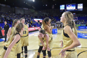 UHS Girls Basketball State Champions 3-10-18-6