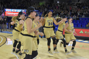 UHS Girls Basketball State Champions 3-10-18-61