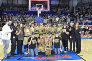 UHS Girls Basketball State Champions 3-10-18-74