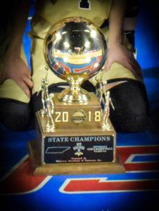 UHS Girls Basketball State Champions 3-10-18-76