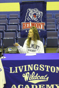 LA Softball Player Abi Ledbetter Signs with Belmont 11-14-18-10