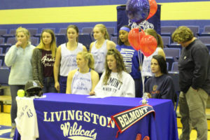 LA Softball Player Abi Ledbetter Signs with Belmont 11-14-18-11