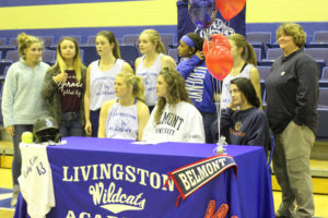 LA Softball Player Abi Ledbetter Signs with Belmont 11-14-18-12