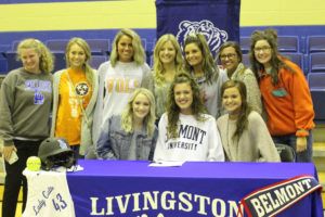 LA Softball Player Abi Ledbetter Signs with Belmont 11-14-18-13