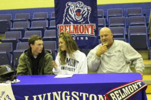LA Softball Player Abi Ledbetter Signs with Belmont 11-14-18-2