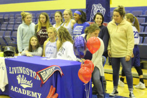 LA Softball Player Abi Ledbetter Signs with Belmont 11-14-18-24