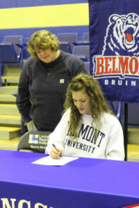 LA Softball Player Abi Ledbetter Signs with Belmont 11-14-18-29
