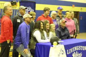 LA Softball Player Abi Ledbetter Signs with Belmont 11-14-18-3
