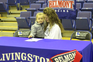 LA Softball Player Abi Ledbetter Signs with Belmont 11-14-18-31
