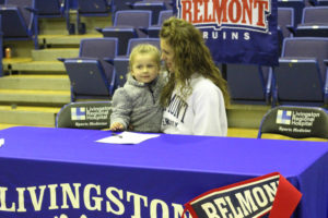 LA Softball Player Abi Ledbetter Signs with Belmont 11-14-18-32