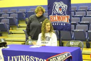 LA Softball Player Abi Ledbetter Signs with Belmont 11-14-18-33