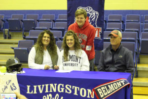 LA Softball Player Abi Ledbetter Signs with Belmont 11-14-18-36