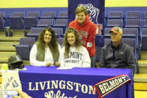 LA Softball Player Abi Ledbetter Signs with Belmont 11-14-18-37