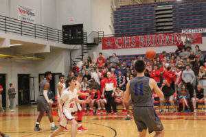 CHS Basketball Splits With Cleveland 12-11-18-59