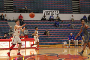 CHS Basketball Splits With Cleveland 12-11-18-64